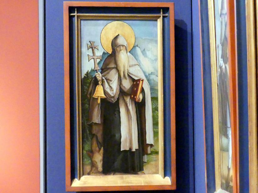 Meister von Meßkirch: Der Heilige Antonius als Einsiedler, 1535 - 1540