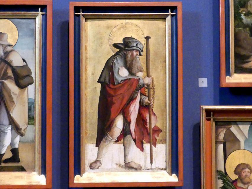 Meister von Meßkirch: Der Apostel Jakobus d. Ä., 1535 - 1540