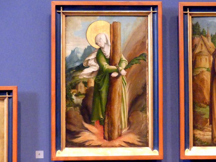 Meister von Meßkirch: Die Heilige Afra, 1535 - 1540