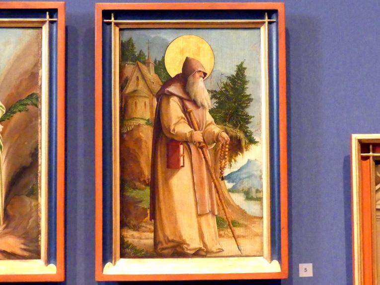Meister von Meßkirch: Der Heilige Paulus von Theben, 1535 - 1540