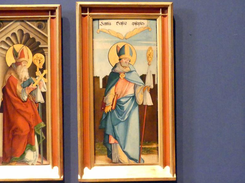 Meister von Meßkirch: Der Heilige Gottfried von Amiens, 1535 - 1540