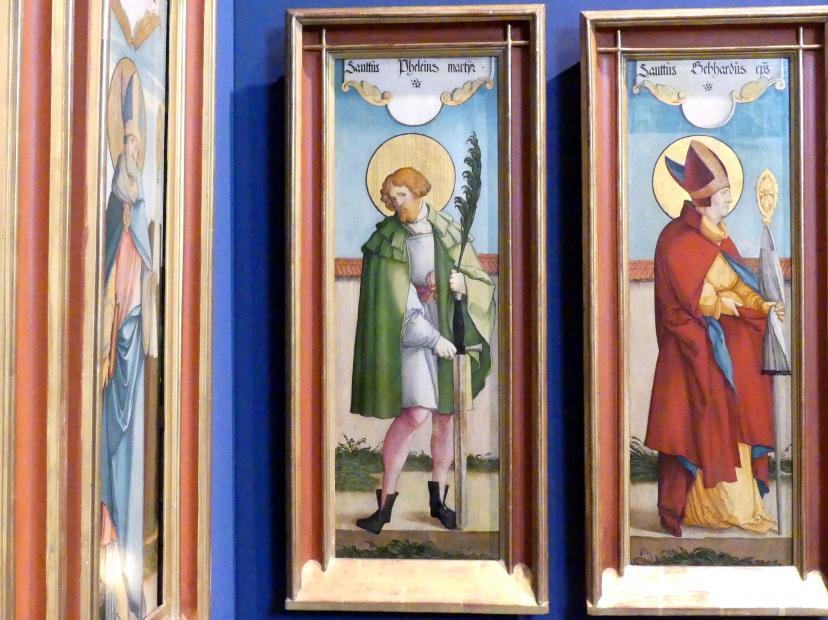 Meister von Meßkirch: Der Heilige Pelagius, 1535 - 1540