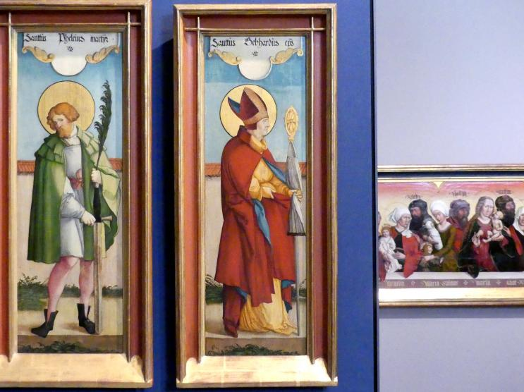Meister von Meßkirch: Der Heilige Gebhard, 1535 - 1540