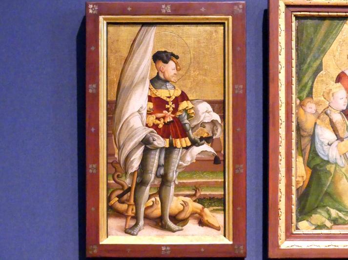 Meister von Meßkirch: Falkensteiner Retabel, nach 1530, Bild 2/11