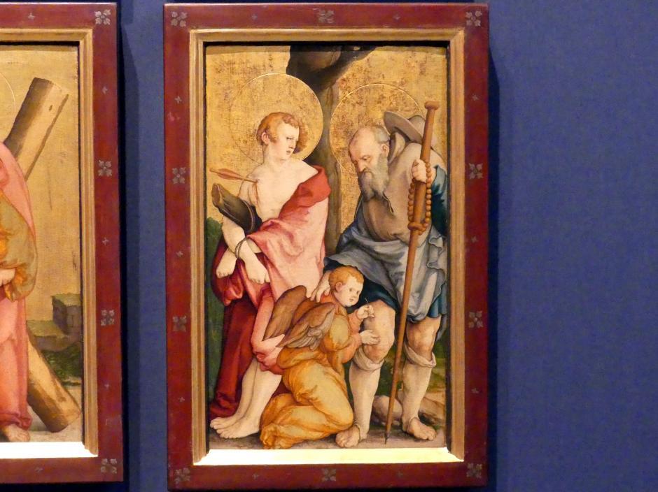 Meister von Meßkirch: Falkensteiner Retabel, nach 1530, Bild 8/11