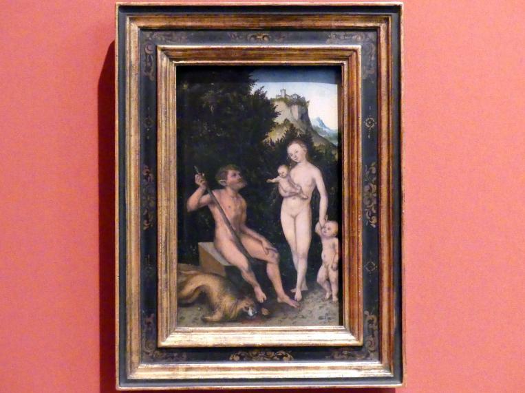 Lucas Cranach der Ältere: Familie der Naturmenschen, 1530