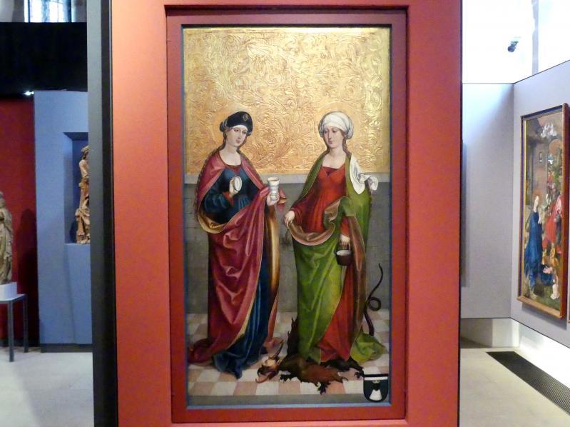 Hans Haider (Werkstatt): Die Heiligen Magdalena und Martha, Um 1500