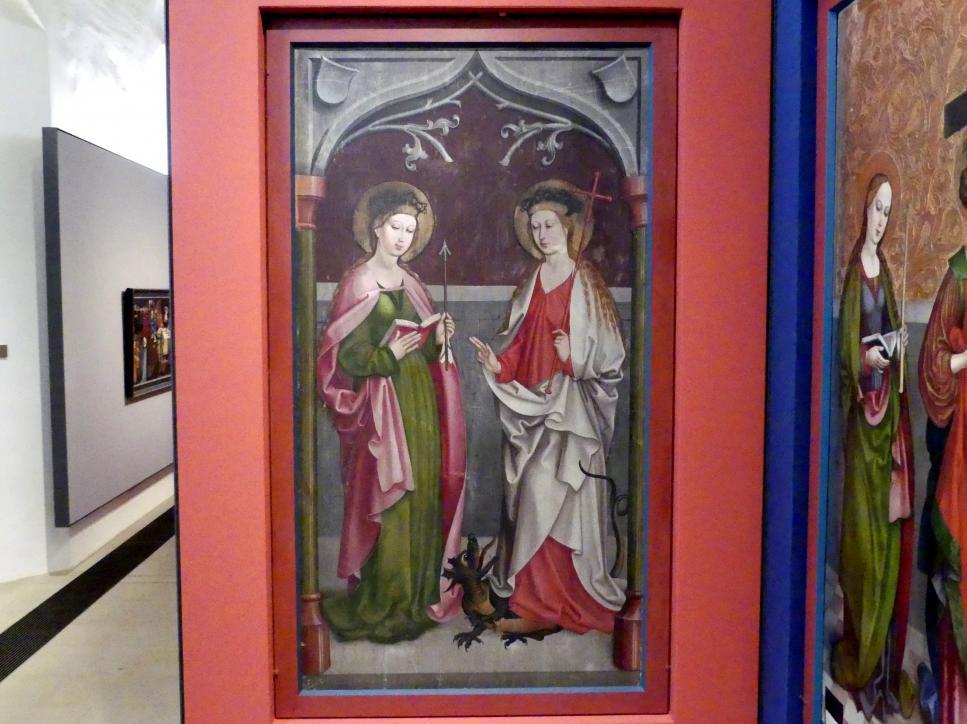 Hans Haider (Werkstatt): Die Heiligen Ursula und Margareta, um 1500