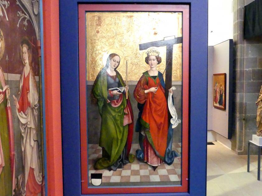Hans Haider (Werkstatt): Die Heiligen Genoveva und Helena, um 1500