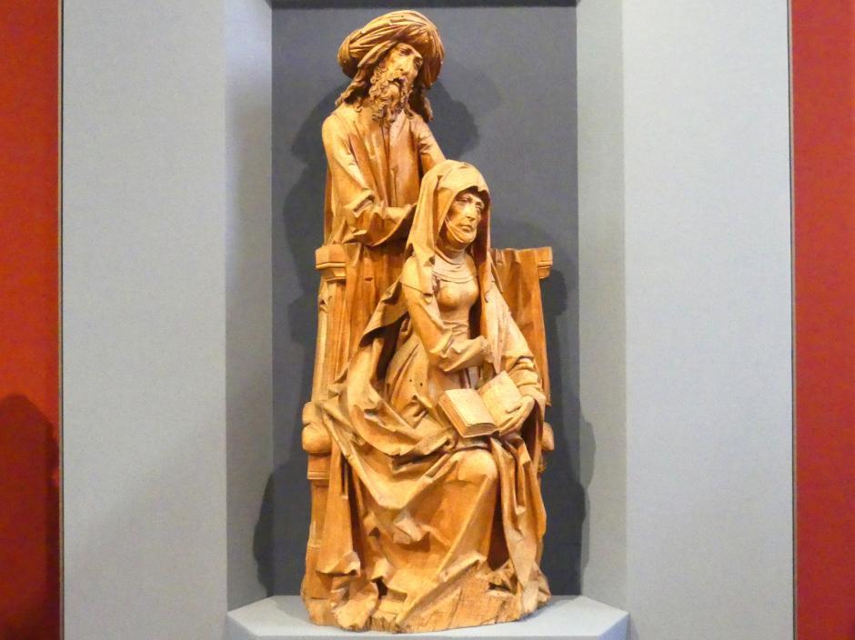 Tilman Riemenschneider: Teilstück einer Heiligen Sippe - Maria Kleophas und Alphäus, Um 1505