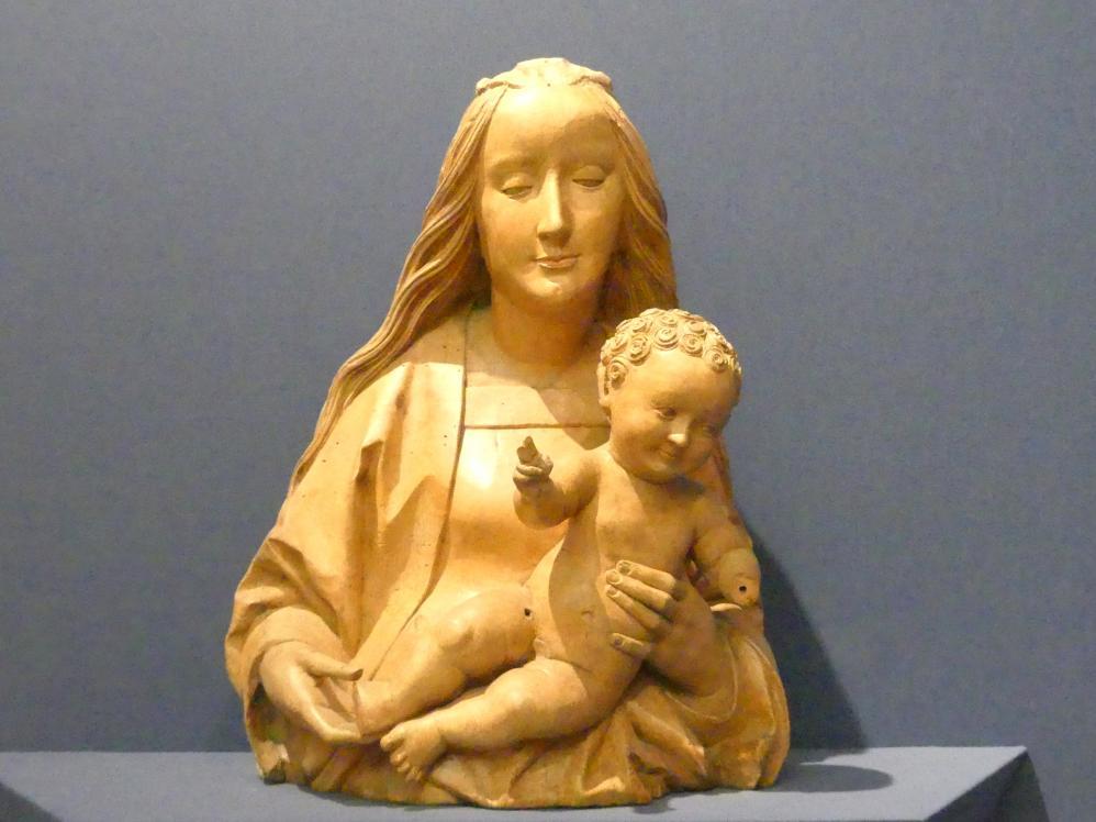 Daniel Mauch: Halbfigur der Muttergottes, Um 1510 - 1515