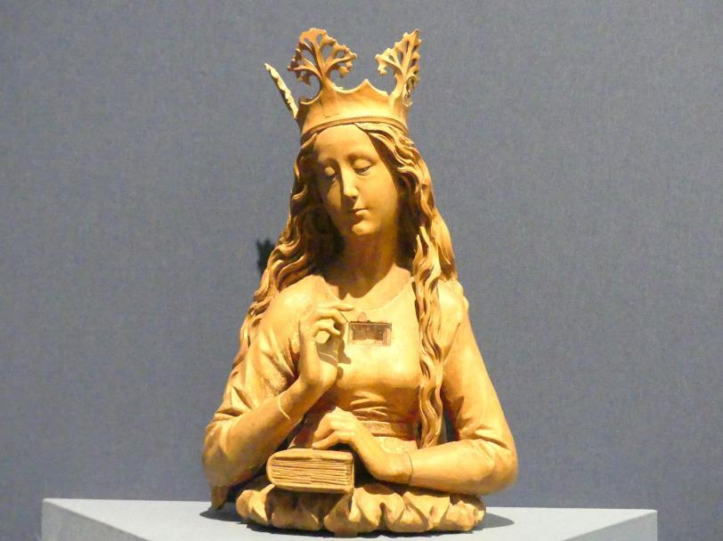 Jörg Syrlin der Ältere: Reliquienbüste einer Hl. Jungfrau, Um 1470 - 1480