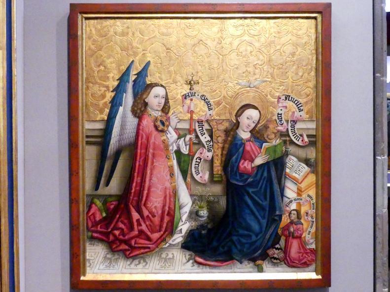 Peter Murer (Werkstatt): Die Verkündigung an Maria, 1465