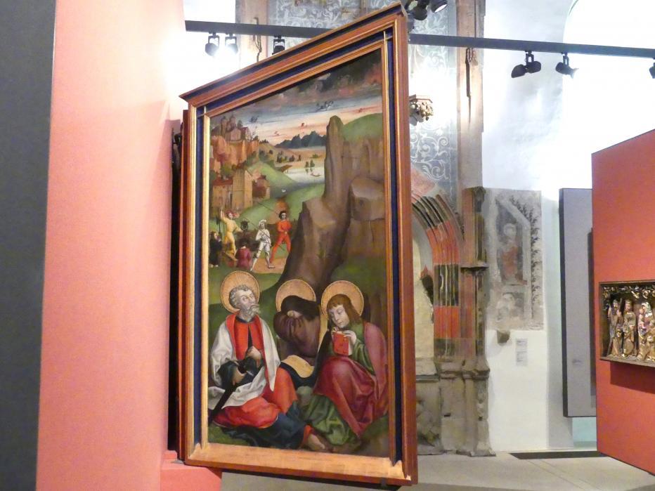 Meister mit dem Stieglitz: Annenaltar: Linker Flügel, 1509