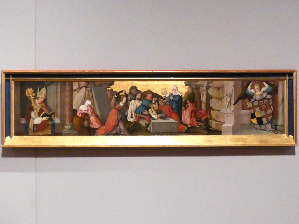 Matthäus Gutrecht der Jüngere: Grablegung Christi, Nach 1512