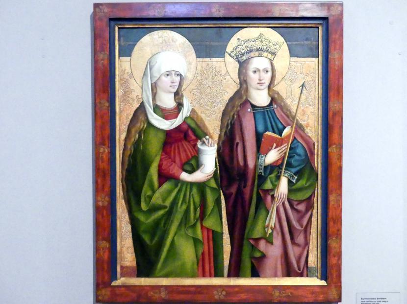 Bartholomäus Zeitblom: Die Heiligen Maria Magdalena und Ursula, um 1490