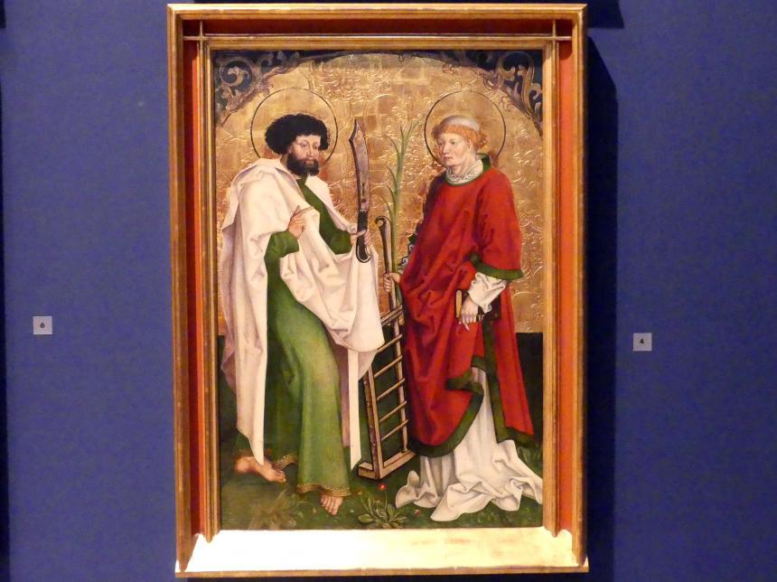 Hans Strüb: Inzigkofener Altar: Die Heiligen Bartholomäus und Laurentius, 1505