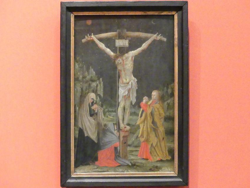 Matthias Grünewald (Mathis Gothart-Nithart) (Kopie): Die Kreuzigung Christi, Beginn 17. Jhd.