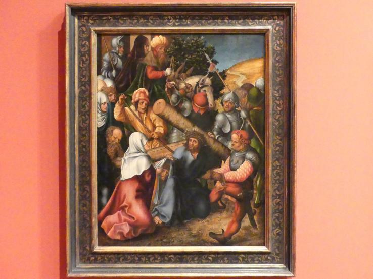 Lucas Cranach der Ältere (Werkstatt): Kreuztragung Christi, 1520