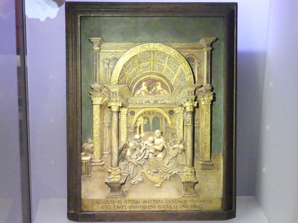 Hans Daucher: Heilige Familie, um 1518