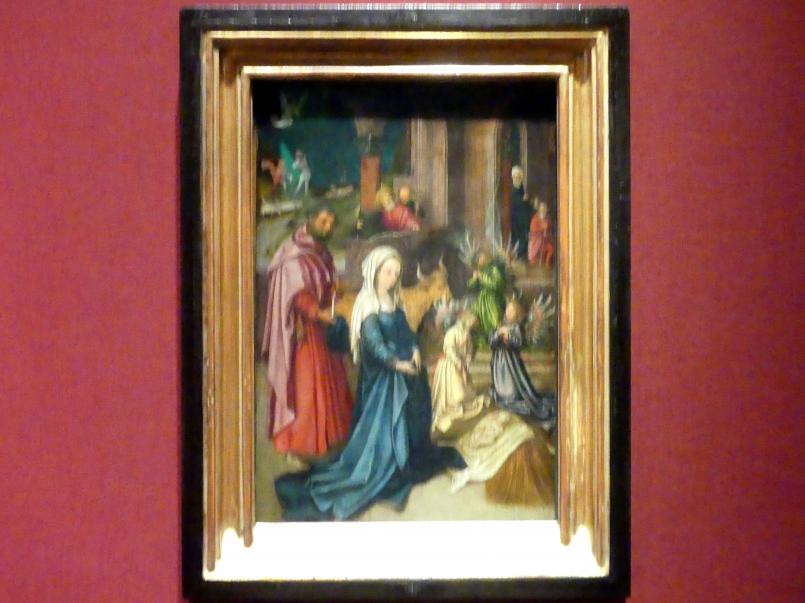 Hans Holbein der Ältere: Die Geburt Christi, Um 1494