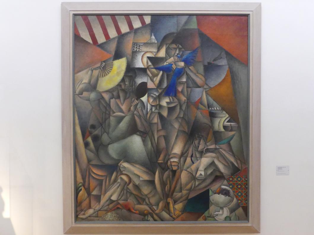 Jean Metzinger: Der blaue Vogel, 1913