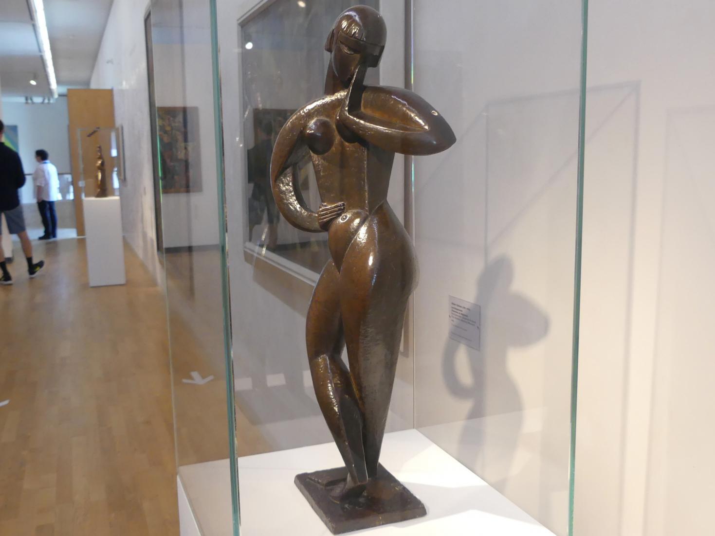 Jacques Lipchitz: Tänzerin, 1913, Bild 2/4