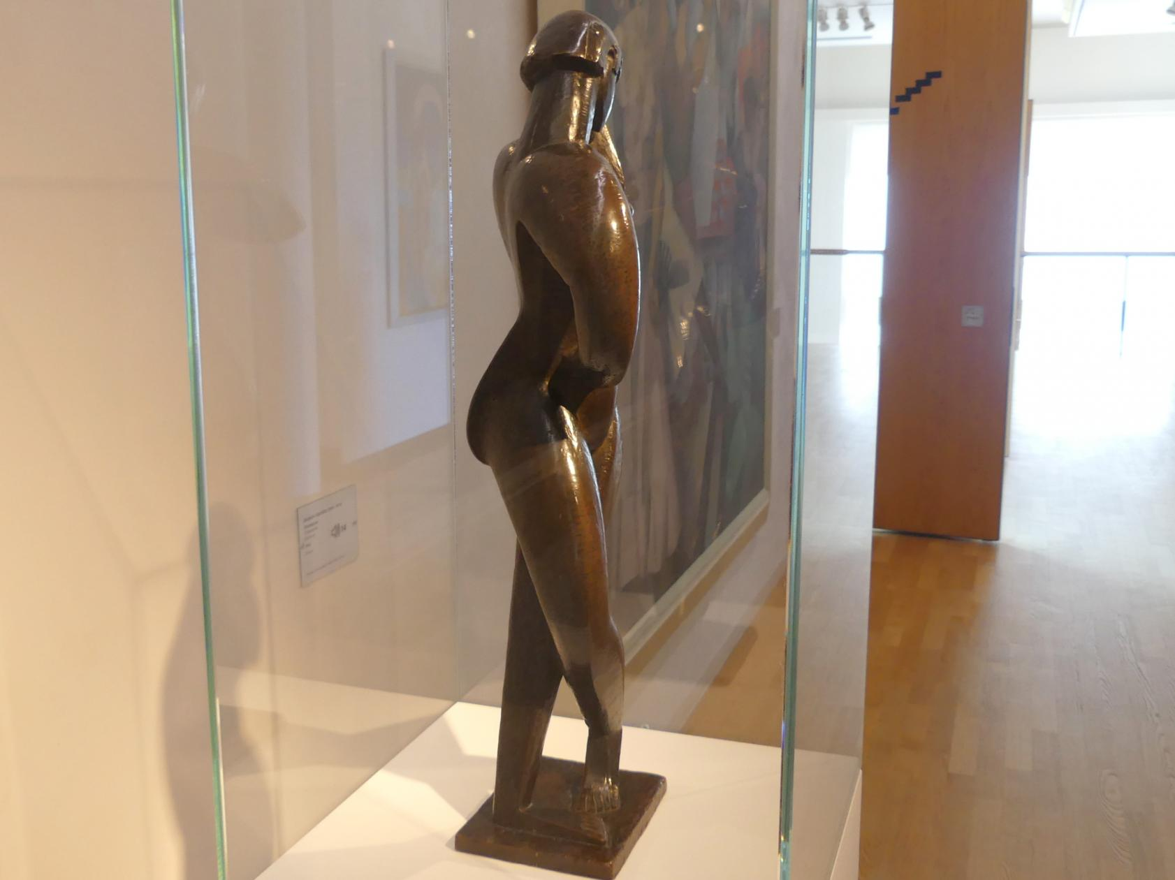Jacques Lipchitz: Tänzerin, 1913, Bild 3/4