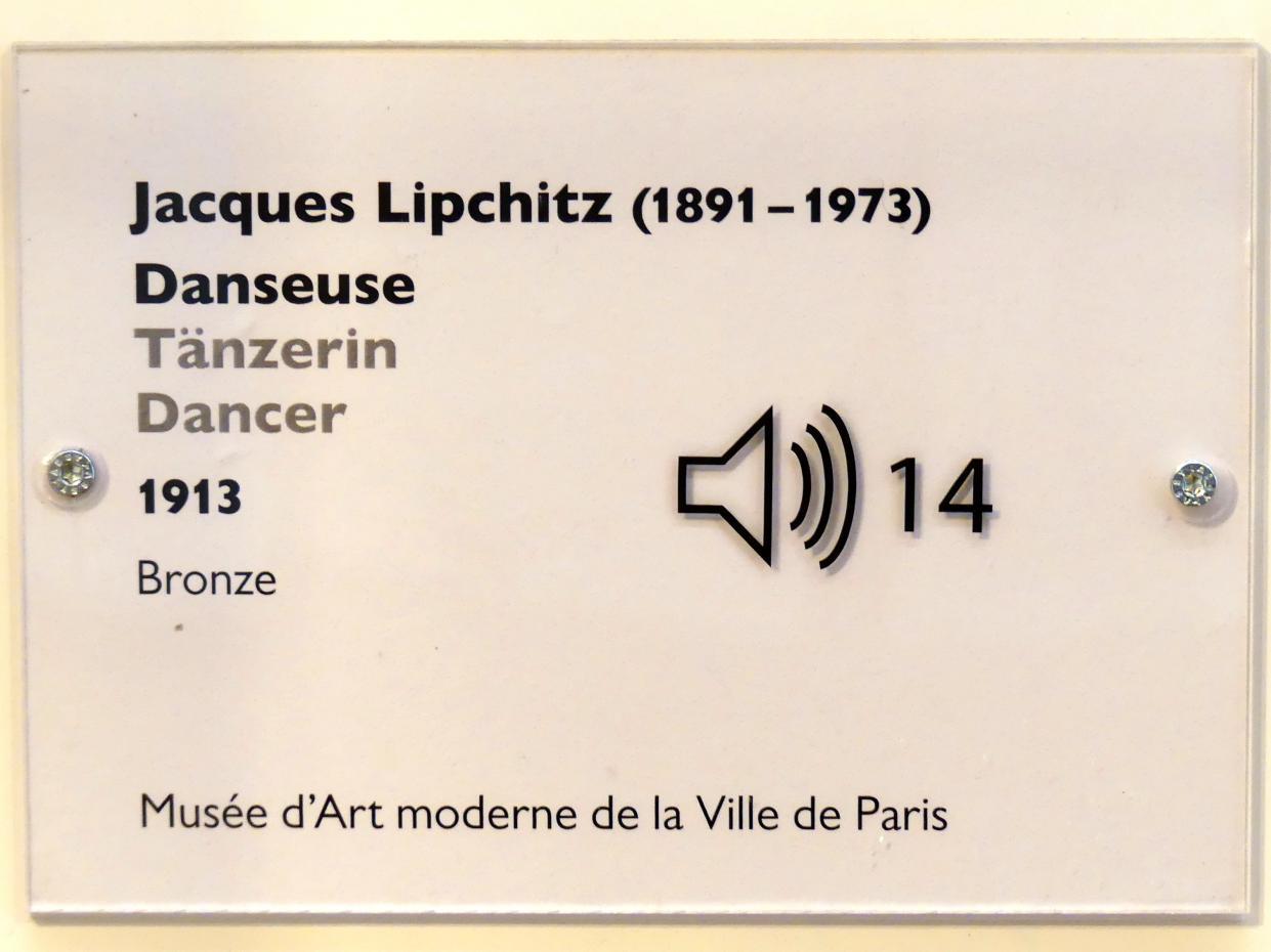 Jacques Lipchitz: Tänzerin, 1913, Bild 4/4