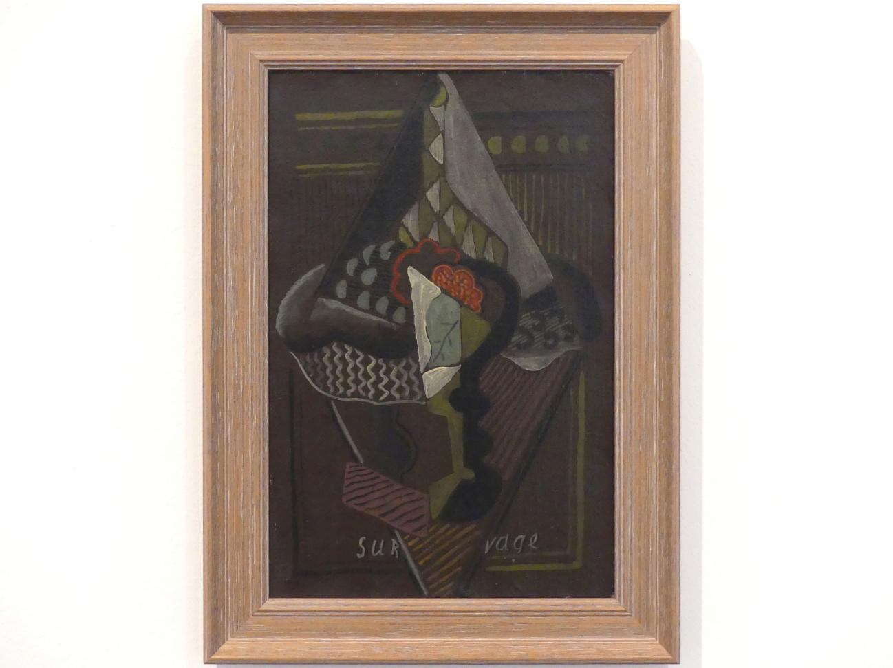 Léopold Survage: Kubistische Komposition, vor 1919