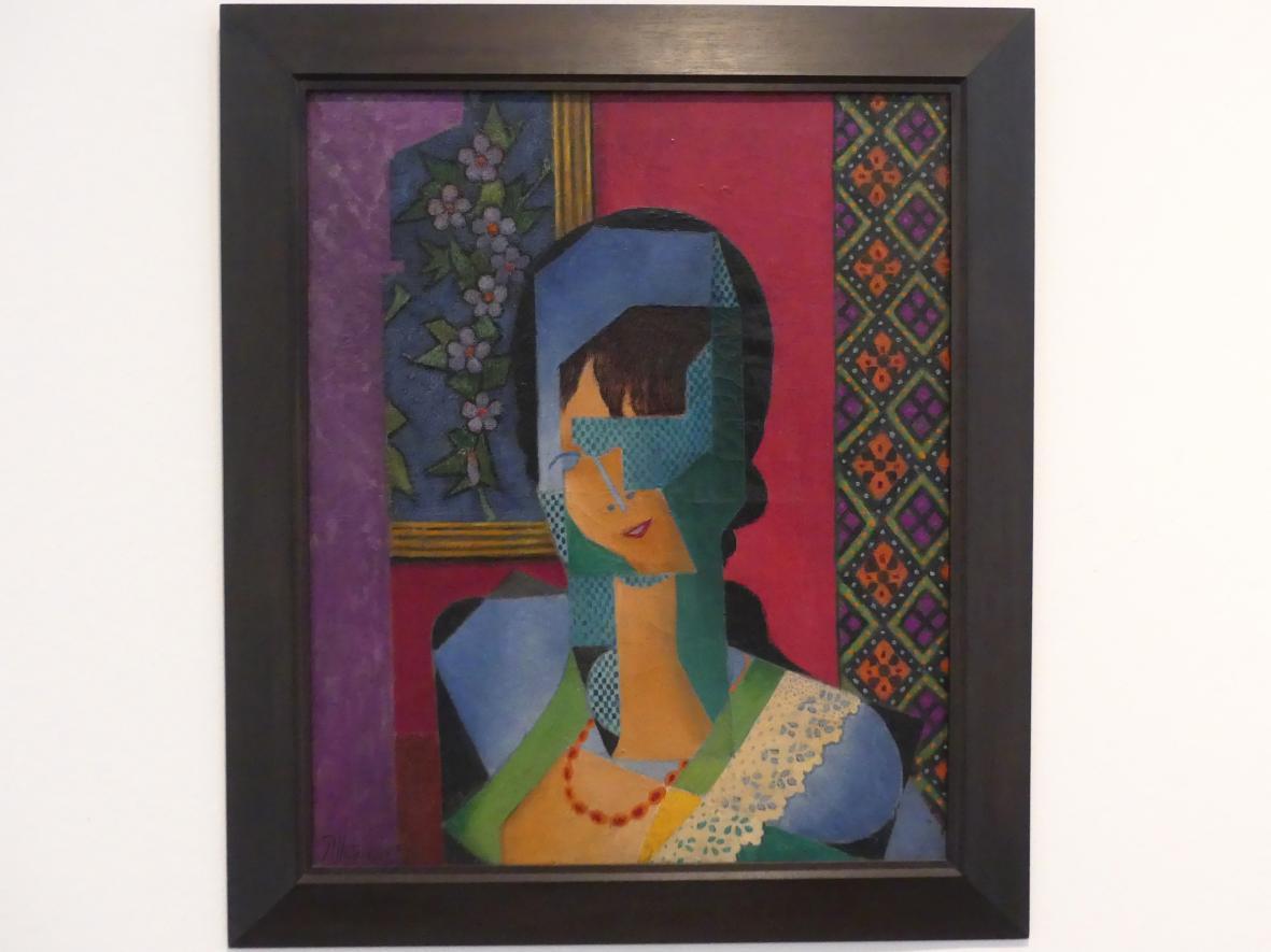 Jean Metzinger: Frau mit Spitze, 1916