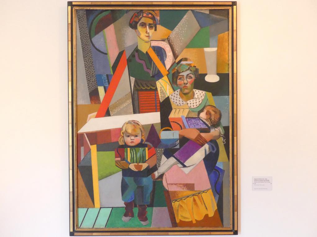Auguste Herbin: Frauen und Kinder (Die Familie), 1914