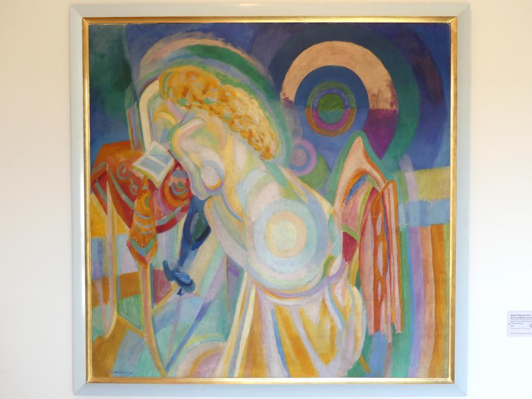 Robert Delaunay: Akt beim Friseur (Die Lesung), 1915