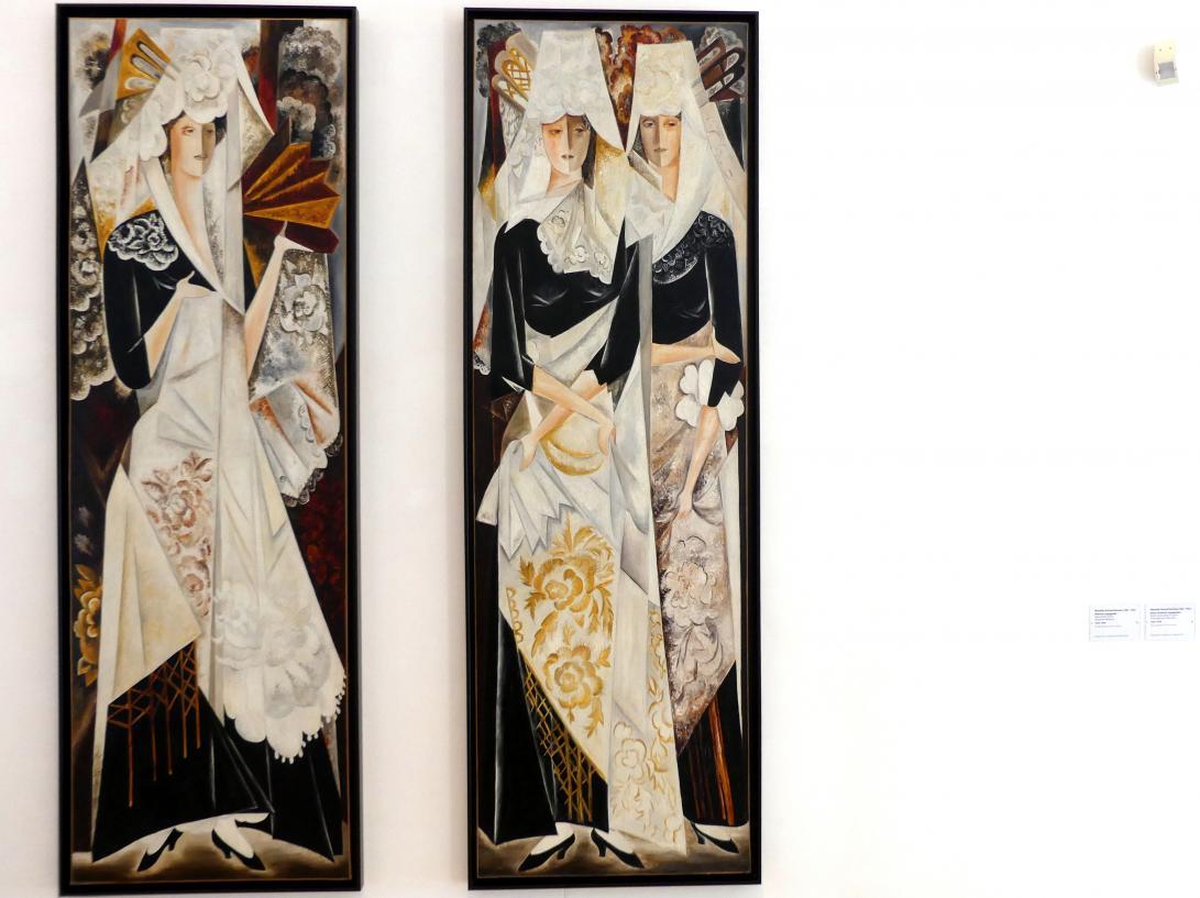 Natalija Sergejewna Gontscharowa: Zwei spanische Frauen, 1920 - 1924