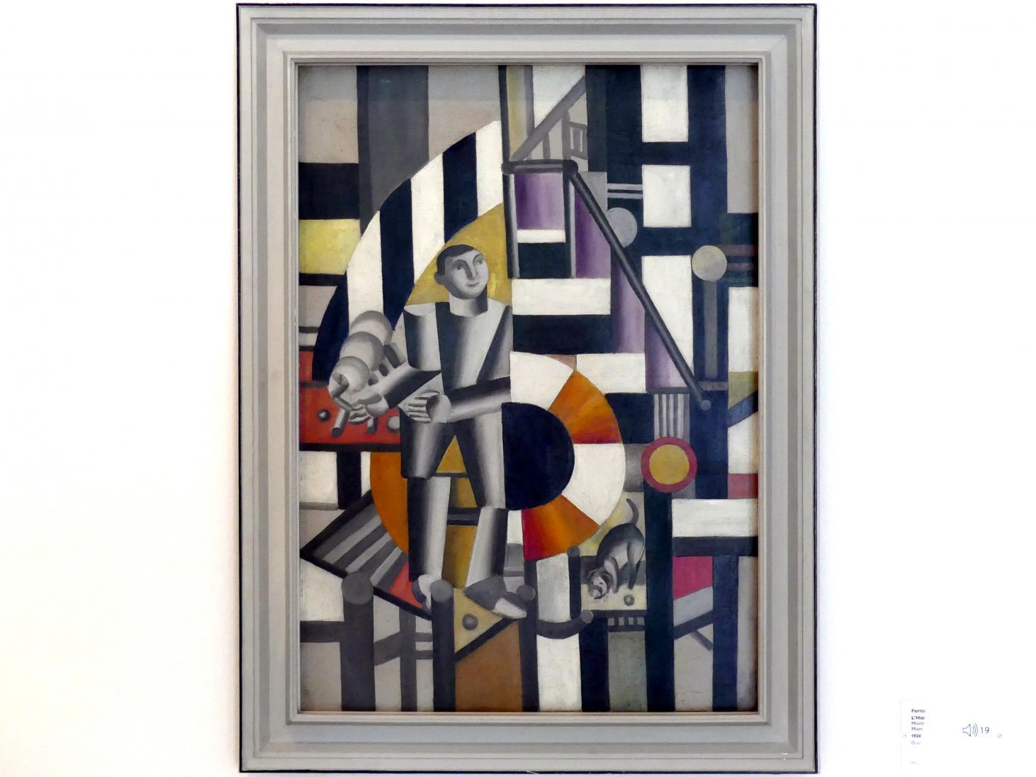 Fernand Léger: Mann mit Pfeife, 1920
