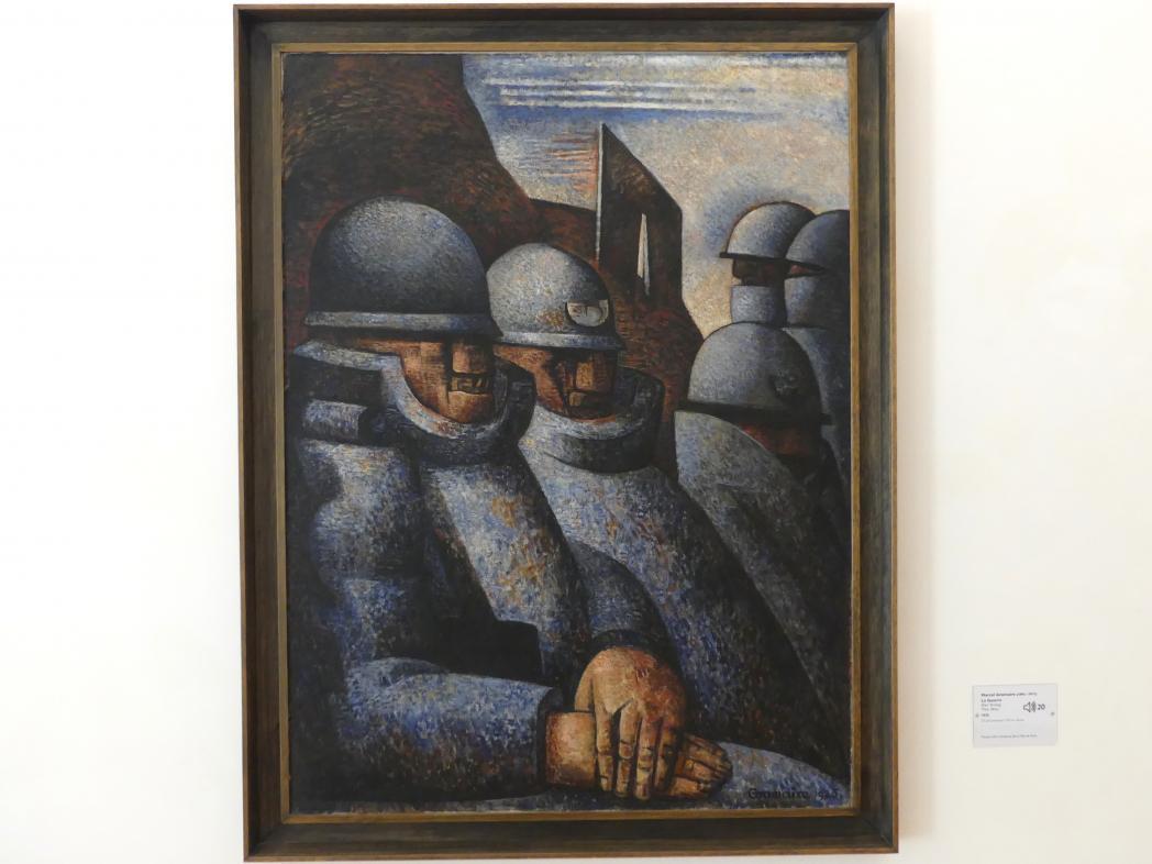 Marcel Gromaire: Der Krieg, 1925