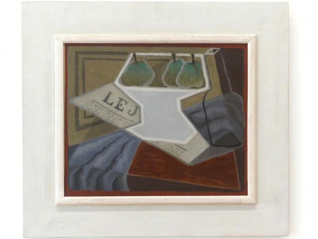 Juan Gris: Kompottschüssel, um 1925 - 1927