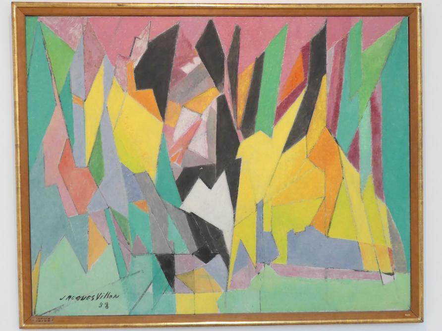 Jacques Villon: Am Wald entlang, 1958