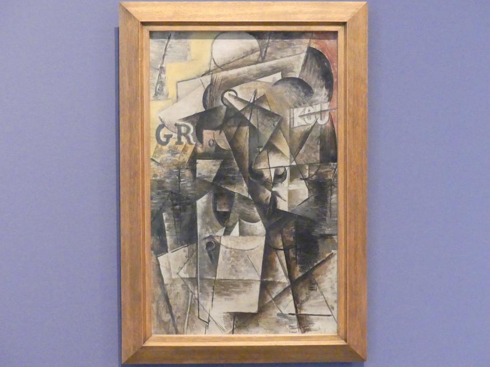 Pablo Picasso: Männerkopf, 1912