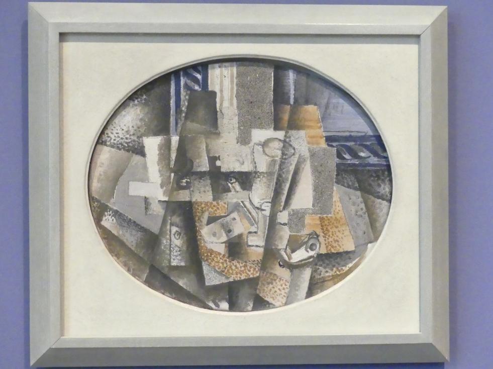 Georges Braque: Stillleben mit Pfeife, 1914