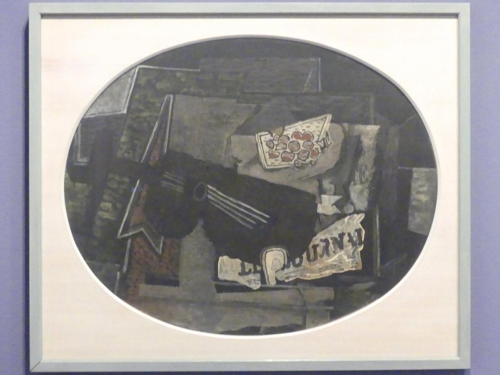 Georges Braque: Komposition mit Gitarre, Vor 1918