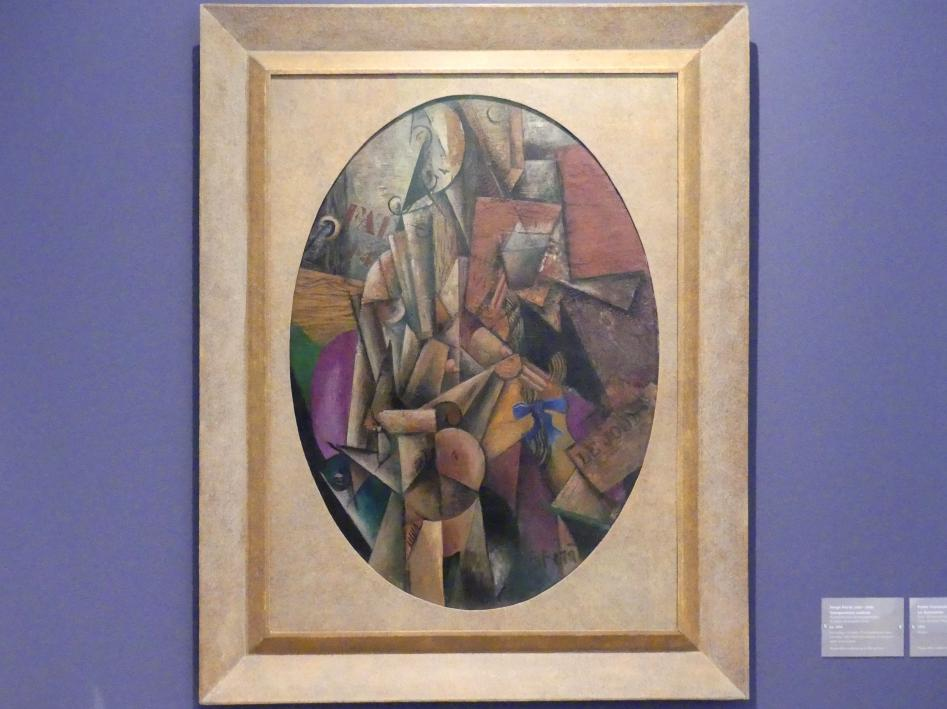 Serge Férat: Kubistische Komposition, Um 1914