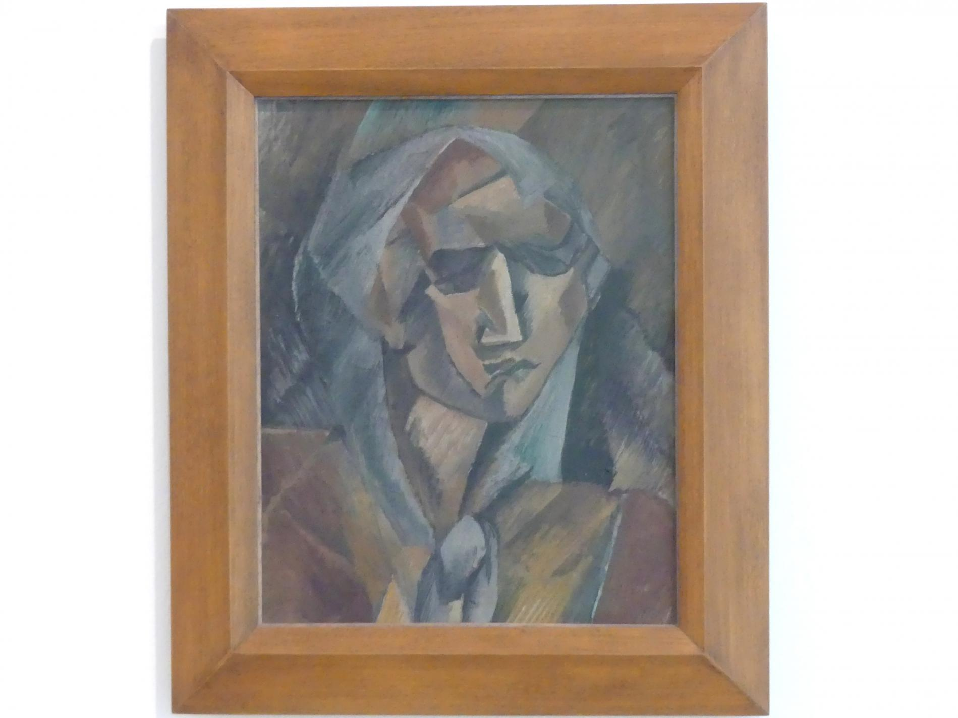 Georges Braque: Frauenkopf, 1909