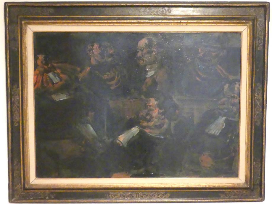 Georges Rouault: Der Angeklagte, 1907