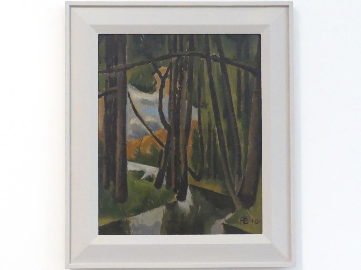 Roger de La Fresnaye: Unterholz, 1910