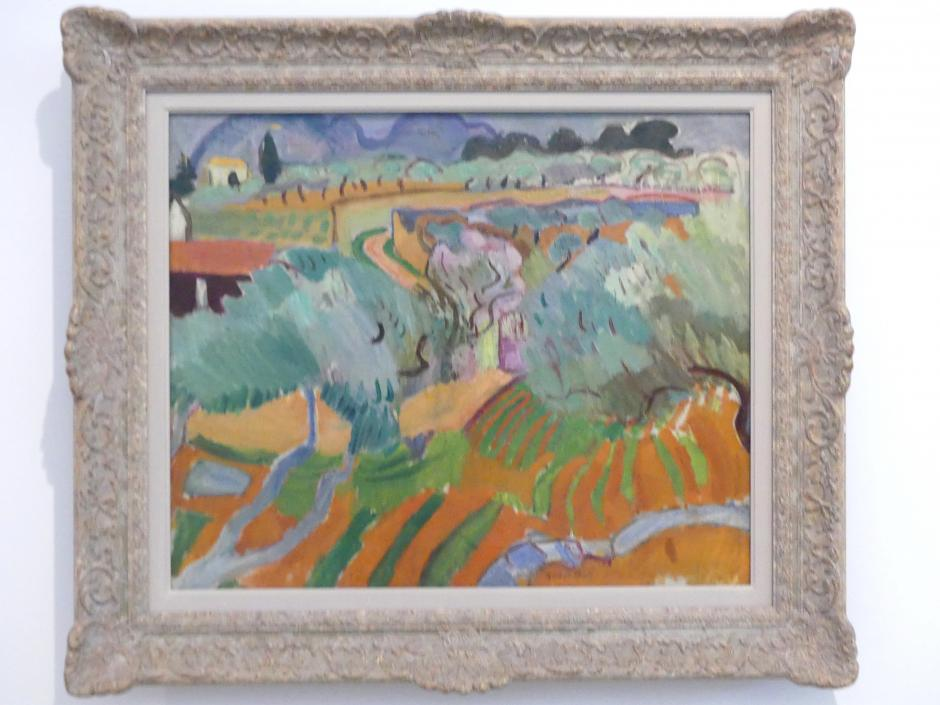 Raoul Dufy: Provence-Landschaft, 1905