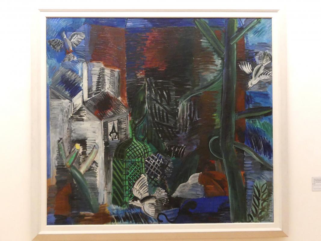 Raoul Dufy: Der verlassene Garten, 1913