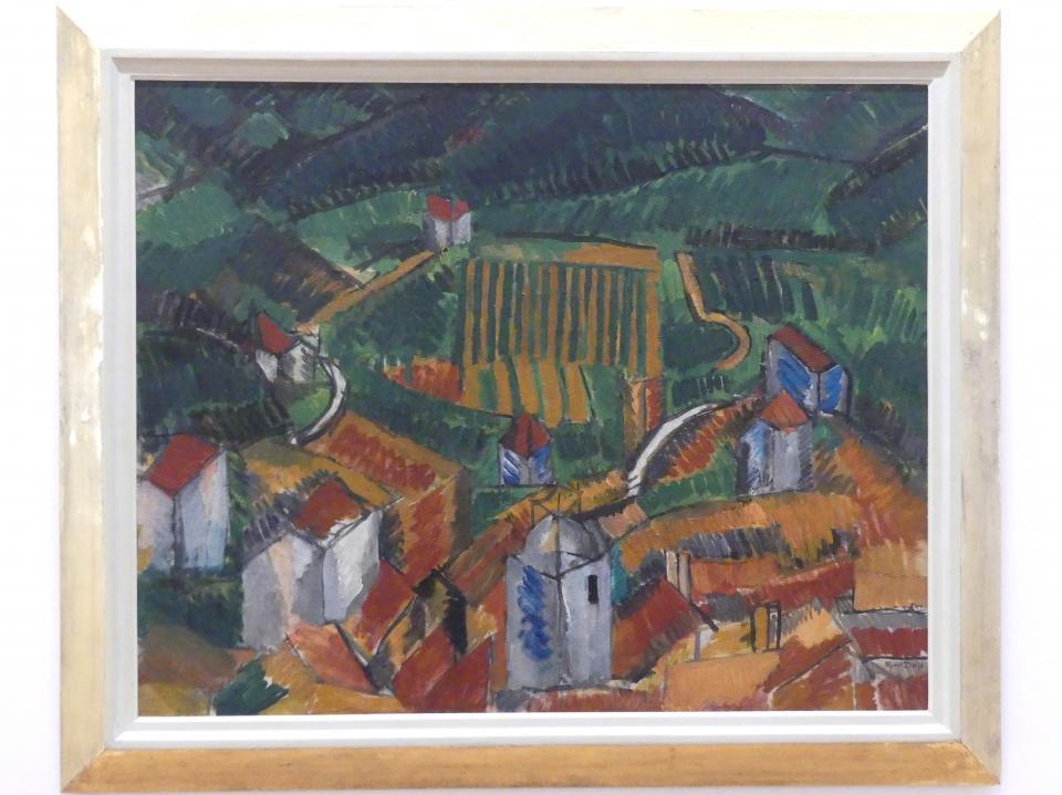 Raoul Dufy: Landschaft bei Vence, 1908, Bild 1/2