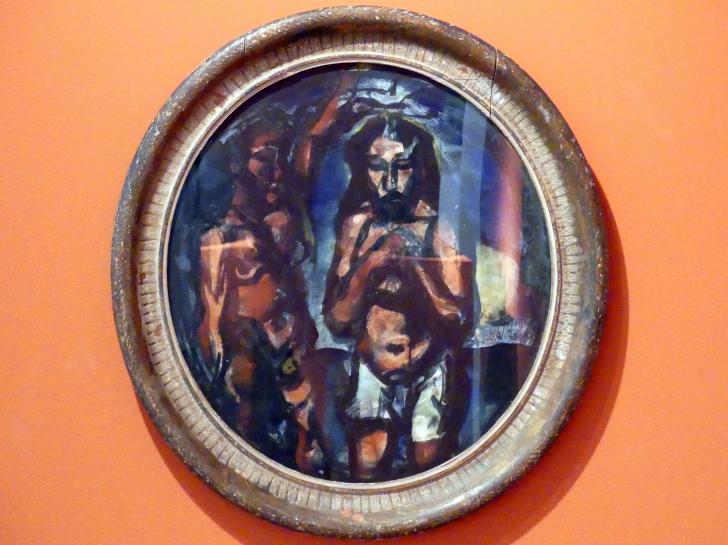 Georges Rouault: Die Taufe Christi, 1911