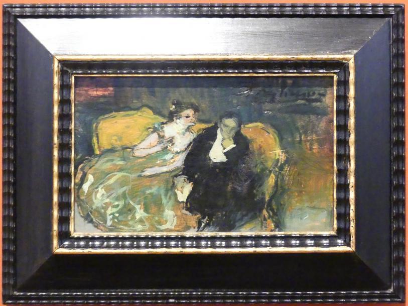 Pablo Picasso: Die Unterhaltung, 1901
